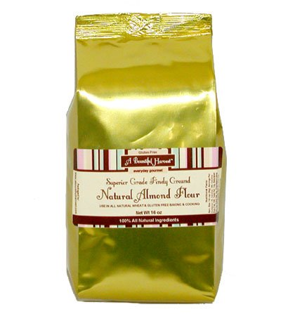 Superior Grade, Finely Ground Almond Flour - Gluten Free