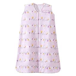 HALO SleepSack Cotton Wearable Blanket, Pink, M