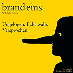 brand eins audio: Wirtschaft und Wahrheit Audiomagazin