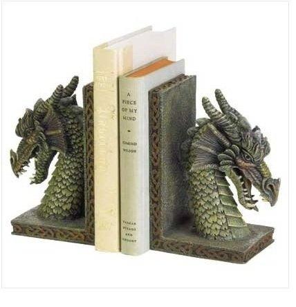 Dragon Head Bookend