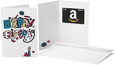 Amazon.co.uk Gift Card - £20  (Birthday Doodle)
