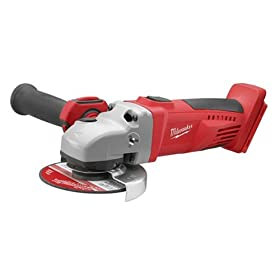 Bare-Tool Milwaukee 0725-20 28 Volt 4-1/2-Inch Grinder/Cut-Off Tool (Tool Only, No Battery)
