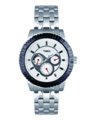 Timex E Class Multi Function Chronograph Silver Dial Men's Watch TI000Q30100