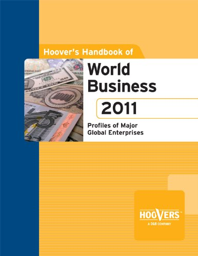 Hoover'S Handbook Of World Business 2011 front-269331