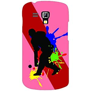 Samsung Galaxy S Duos 7562 Cricket Play Phone Cover