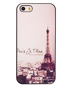 Unendlich U Schmuck besten Willkommen Geschenk Painting romantisch Eiffelturm in der Nacht mit Handy Schutz Hülle für iPhone 5/5S