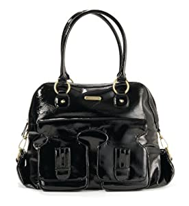 timi & leslie Marilyn II Diaper Bag, Black