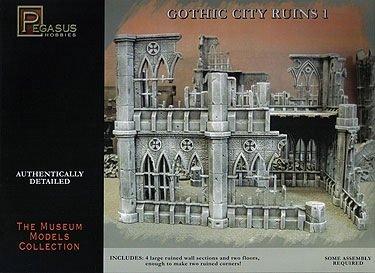 Pegasus Hobbies - Maquette de ruines gothiques 1 - 4930