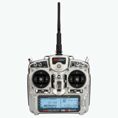 X9503 2.4 Heli Tx with R921X Rx No Servos MD1