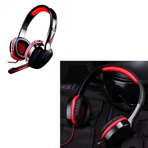 Leexgroup® Sades Sa-904 Gamers 7.1 Sound Effect Gaming Headphone With Microphone