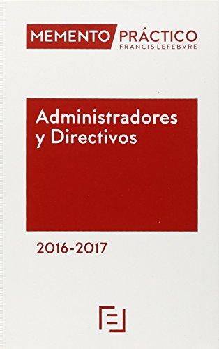 Memento Práctico Administradores y Directivos 2016-2017