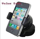 Mighty Gadget - Mini car mobile phone holder rotating car cell phone holder (Random Color)