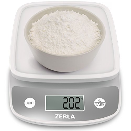 digital kitchen scale by zerla versatile food scale weigh snacks liquids u0026 foods accurate weight scale within 05 oz great for adkins diet
