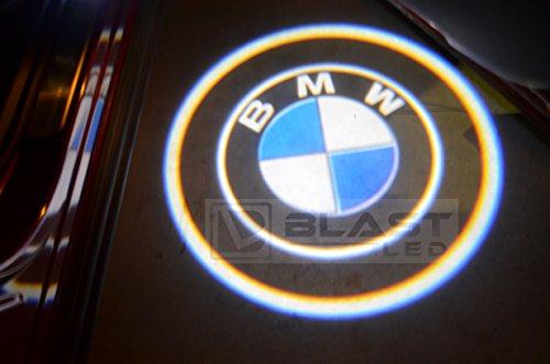 2X Bmw Door Led Logo Light Ghost Shadow Projector Laser Courtesy Light