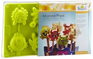 Amazon.com: Birkmann Silicone Monster Pops Baking Mold ...