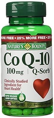 Nature's Bounty Q-Sorb Co Q-10 100 Mg., 60 Softgels (Pack of 2)