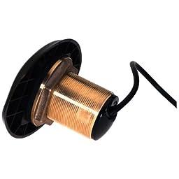 1 - Lowrance Bronze HDI 12° Tilt Transducer 50/200 455/800