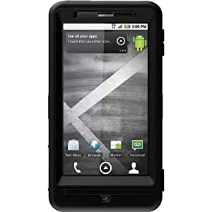 OtterBox Defender Case for Motorola DROID X MB810 (Black)