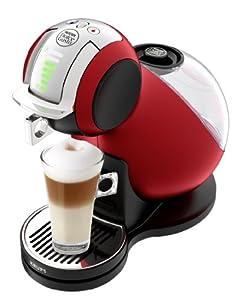 Krups YY1651FD Machine à expresso Nescafé Dolce Gusto 15 bars Melody Automatique Rouge Métal