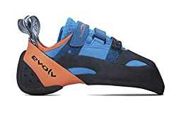 Evolv Shaman Climbing Shoe - Blue/Orange 12