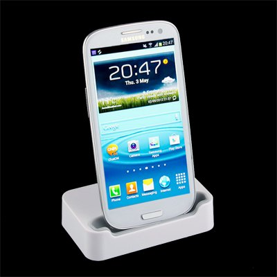 ... Sync Charger Dock Station / Cradle For Samsung GalaxySIII S3 i9300