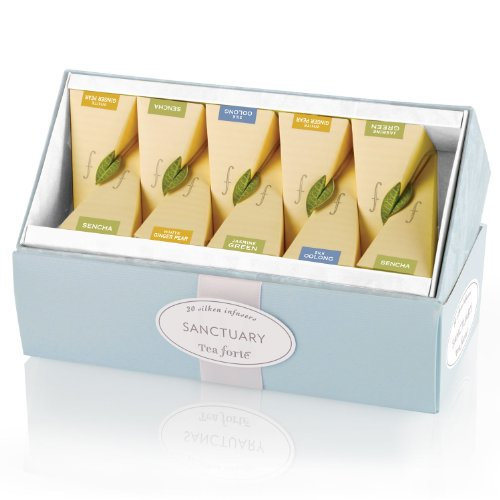 Tea Forte Ribbon Box-Sanctuary