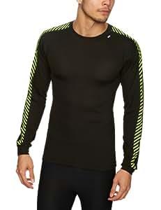 Helly Hansen T-shirt à manches longues Lifa Dry Stripe Crew noir XS