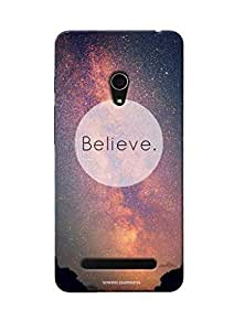 Sowing Happiness Printed Back Cover For Asus Zenfone 6