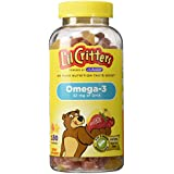 Lil' Critters Omega-3 DHA - 180 Gummy Fish
