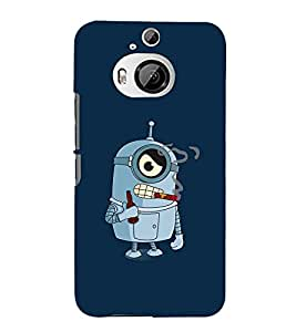 99Sublimation Smoking Cartoon 3D Hard Polycarbonate Back Case Cover for HTC One M9 Plus