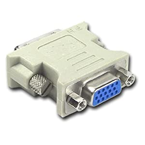 DVI-D 25 Pin Male to VGA Female Converter Adapter LCD