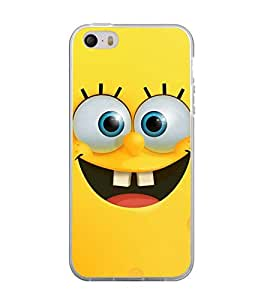Printvisa Cute Yellow cartoon character Back Case Cover for Apple iPhone 4::Apple iPhone 4S