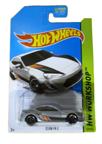 Hot Wheels 2014 Hw Workshop Then and Now Silver Scion FR-S 227/250 - 1