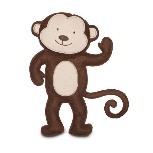 Monkey Felt Wall Decor - 1