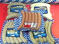 Sampler 2 Bavaria Octoberfest Bratwurst from Wisconsinmade.com