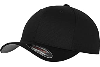 Original FLEXFIT® Baseball Cap in versch. Farben (L/XL - bis 62 cm, Black) L/XL - bis 62 cm,Black
