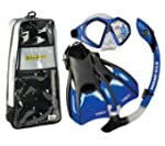 US Divers Admiral Mask Fins Dry Snork...