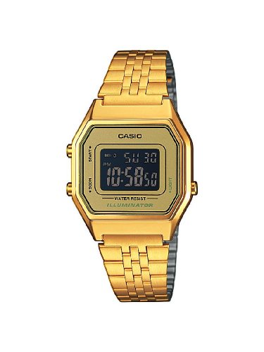 Casio-Damen-Armbanduhr-Casio-Collection-Digital-Quarz-Edelstahl-LA680WEGA-9BER