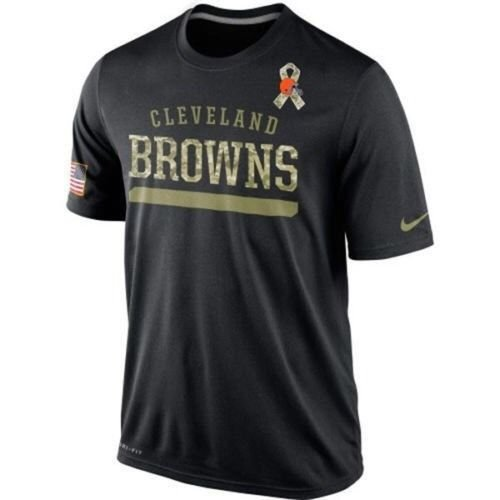 Cleveland Browns 2014 Nike Salute to Service NFL Dri-Fit T-Shirt X-Large (XL) (2014 Salute Service compare prices)