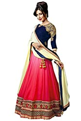 Greenvilla Designs Faux Georgette Function Wear Lehenga(GVD-CHITRANGADA_Pink)