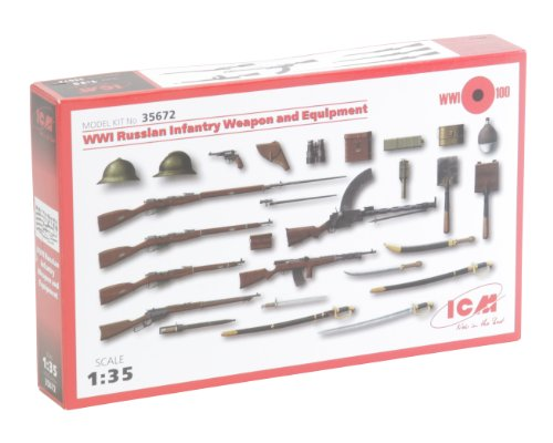 Icm Models Wwi Russian Infantry Weapons And Equipment