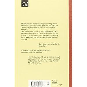 Im Westen nichts Neues: Roman. Ohne Materialien (KiWi)