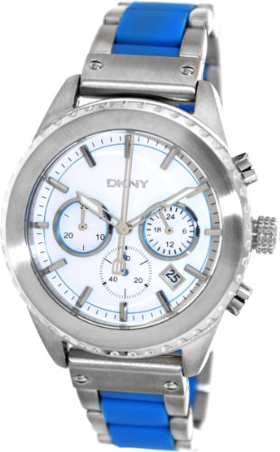 DKNY NY8762 - Reloj para hombres, correa de acero inoxidable