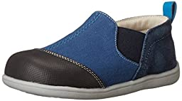 See Kai Run Miles Slip-On (Toddler), Blue, 4 M US Toddler