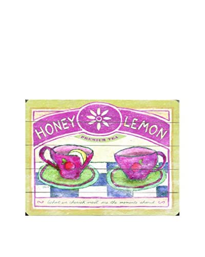 Honey Lemon Wood Wall Décor