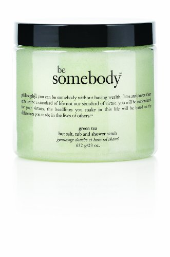 Philosophy Be Somebody Body Scrub, Green Tea, 23 Ounce