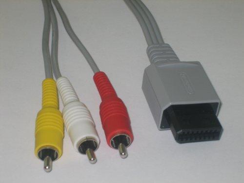 Original Nintendo Wii Audio Video AV Cable Cord