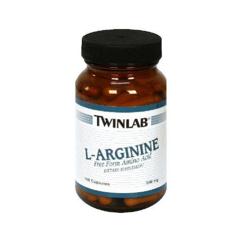 Twinlab, L-arginine, 500mg, 100 Cap