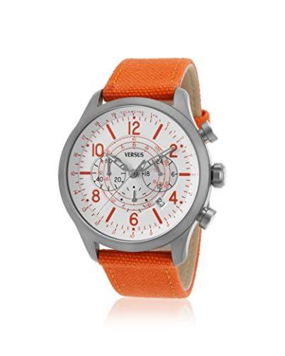 Versus Women's Soho Orange/White Ion Plated Stainless Steel Watch