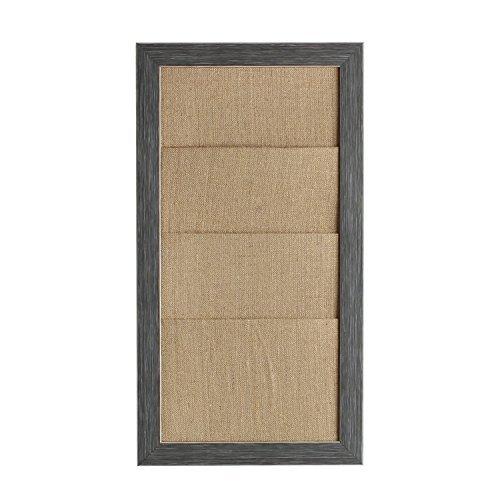 designovation-210084-wyeth-framed-burlap-pockets-wall-organization-board-gray